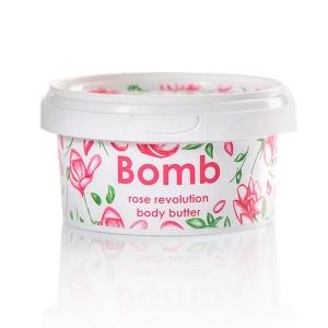 Bomb cosmetics body butter rose revolution