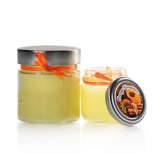 aromatic candle orange cinnamon