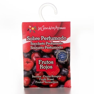wardrobe freshener with hanger Red Fruits